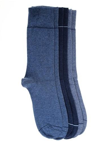 Pixter&Bro 3'lü Çorap Mavi